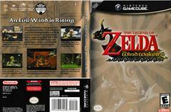 Artwork - Back, Front | Zelda Wind Waker Gamecube
