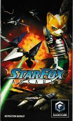 Manual - Front   Star Fox Assault Gamecube