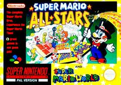 Super Mario All-stars and Super Mario World PAL Super Nintendo Prices