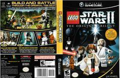 Artwork - Back, Front | LEGO Star Wars II Original Trilogy Gamecube