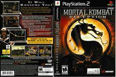 Artwork - Back, Front | Mortal Kombat Deception Playstation 2