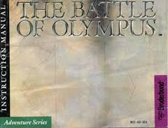 Battle Of Olympus - Instructions | Battle of Olympus NES
