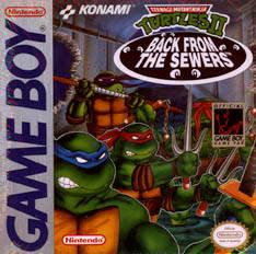 Teenage Mutant Ninja Turtles II Back from the Sewers GameBoy Prices