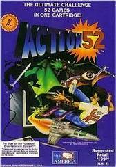 Action 52 - Front | Action 52 NES
