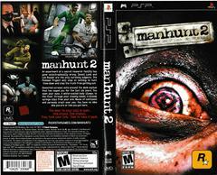 Artwork - Back, Front   Manhunt 2 PSP