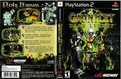 Artwork - Back, Front | Gauntlet Dark Legacy Playstation 2