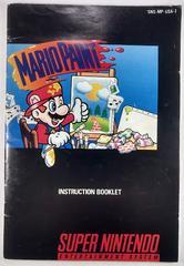 Manual | Mario Paint Super Nintendo
