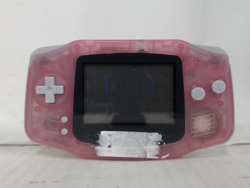 Fushia Gameboy Advance System photo