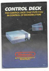 Manual | Nintendo NES Console NES