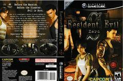 Artwork - Back, Front | Resident Evil Zero Gamecube