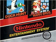 Super Mario Bros And Duck Hunt - Instructions | Super Mario Bros and Duck Hunt NES