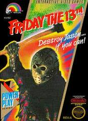 Friday The 13th - Front | Friday the 13th NES