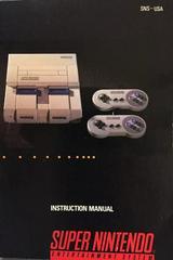 Manual | Super Nintendo System Super Nintendo