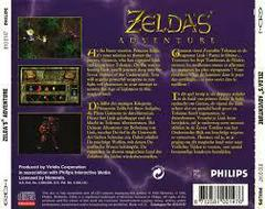 Zelda'S Adventure- Back | Zelda's Adventure CD-i