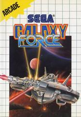Front Cover  | Galaxy Force PAL Sega Master System