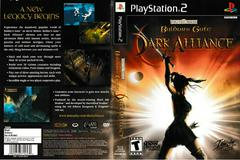 Artwork - Back, Front | Baldur's Gate Dark Alliance Playstation 2