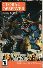 Manual - Front | War of the Monsters Playstation 2