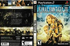 Artwork - Back, Front | Final Fantasy XII Playstation 2