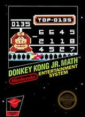 Donkey Kong Jr Math - Front | Donkey Kong Jr Math NES
