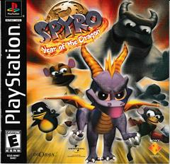 Manual - Front | Spyro Year of the Dragon Playstation