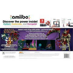 Package Back | Shovel Knight Treasure Trove 3 Pack Amiibo