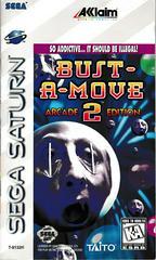 Manual - Front   Bust-a-Move 2 Arcade Edition Sega Saturn