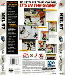 Back Of Box | NHL 97 Sega Saturn