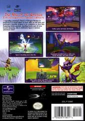 Case - Back (Player'S Choice) | Spyro Enter the Dragonfly Gamecube