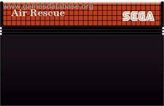 Cartridge  | Air Rescue PAL Sega Master System