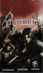 Manual - Front | Resident Evil 4 Gamecube