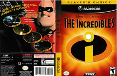Artwork - Back, Front (Players Choice) | The Incredibles Gamecube