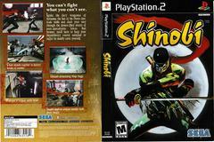 Artwork - Back, Front | Shinobi Playstation 2