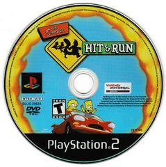 Game Disc | The Simpsons Hit and Run Playstation 2