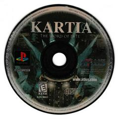Game Disc   Kartia Word of Fate Playstation