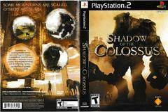 Artwork - Back, Front | Shadow of the Colossus Playstation 2