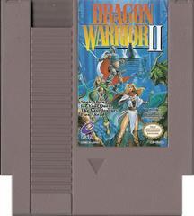 Cartridge | Dragon Warrior II NES