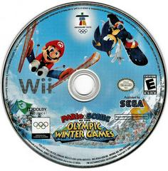 Game Disc | Mario and Sonic Olympic Winter Games Wii