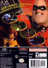 Case - Back (Player'S Choice) | The Incredibles Gamecube