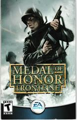 Manual - Front | Medal of Honor Frontline Playstation 2