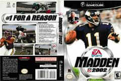 Artwork - Back, Front | Madden 2002 Gamecube