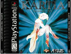 Front Of Box   Kartia Word of Fate Playstation