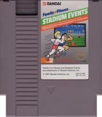 Cartridge   Family Fun Fitness Stadium Events NES