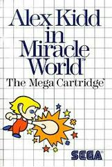 Alex Kidd In Miracle World - Front | Alex Kidd in Miracle World Sega Master System