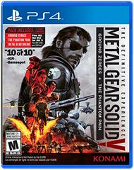 Metal Gear Solid V The Definitive Experience Playstation 4 Prices