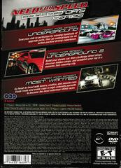 Back Of Slip Cover | Need for Speed: Collector's Series Playstation 2