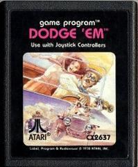Cartridge | Dodge 'Em Atari 2600
