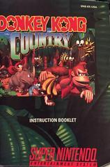 Manual | Donkey Kong Country Super Nintendo