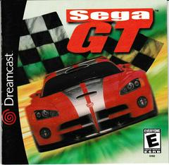 Manual - Front   Sega GT Sega Dreamcast