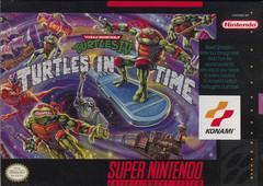 Teenage Mutant Ninja Turtles IV Turtles in Time Super Nintendo Prices