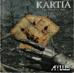 Manual - Front   Kartia Word of Fate Playstation
